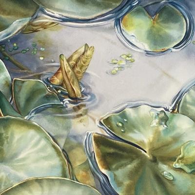 1-Spring-Lilies-10_-x-14_-watercolour