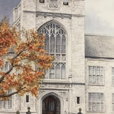 3-The-Albert-College-School-in-Belville-Ontario-8_-x-10_-varnished-watercolour