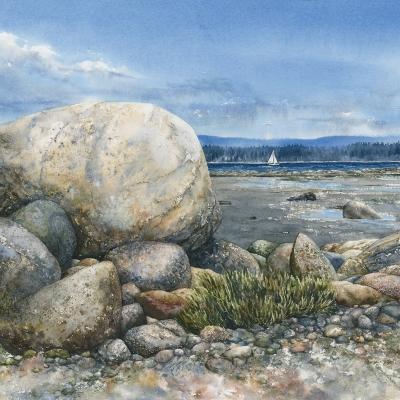 1-Smelt-Bay-Shoreline-14_-x-20.5_-watercolour
