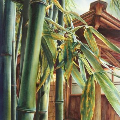 8-Bamboo-Garden-20_-x-30_-watercolour