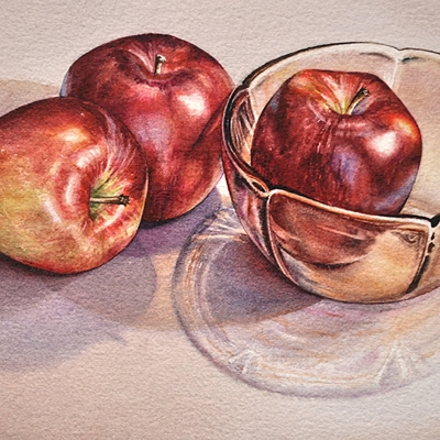 30-Trio-of-Apples-8_-x-11_-watercolour